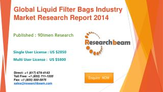 Global Liquid Filter Bags Market Size, Share, Industry 2014