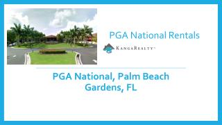 PGA National Rentals - Palm Beach Gardens, FL