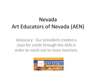 Nevada Art Educators of Nevada (AEN)