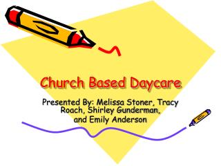 Church Based Daycare