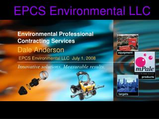 Environmental Professional Contracting Services
