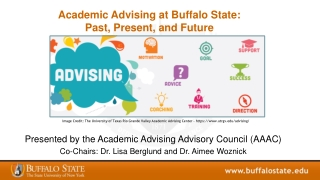 Crafting Successful Advisor Training  Development Programs for  Professional and Faculty Advisors