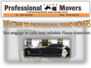 Easiest Way to Get Excellent Piano Delivery Service by the B