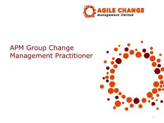 APM  Group Change Management Practitioner