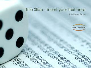 Title Slide – insert your text here