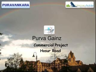 Purva Gainz Commercial Space For Sale