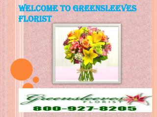 Best Flower Delivery Service By Greensleeves Florist