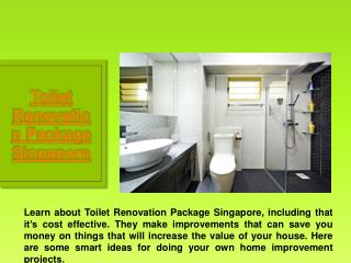 Toilet Interior Design Singapore