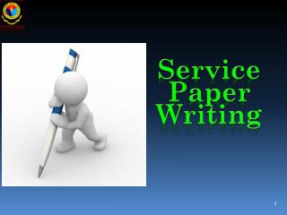 Service Paper Writing