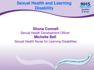 Sexual Health and Learning Disability