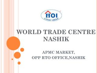 WORLD TRADE CENTRE NASHIK