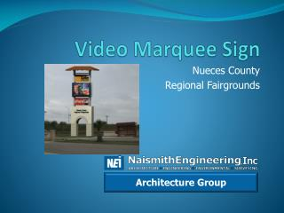 Video Marquee Sign