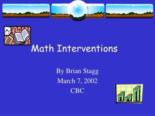 Math Interventions