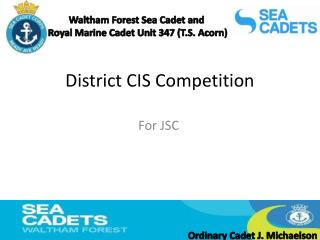District CIS Competition