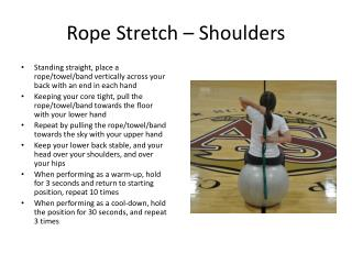Rope Stretch – Shoulders