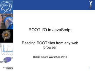 ROOT I/O in JavaScript