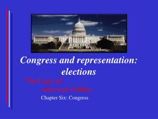 Congress and representation: elections