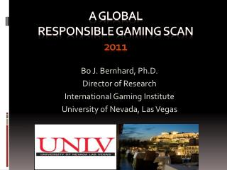 A global  responsible gaming scan  2011