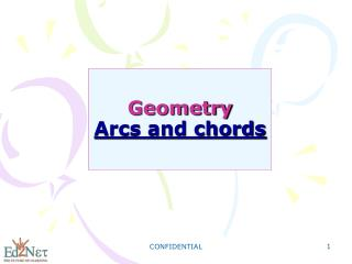 Geometry Arcs and chords