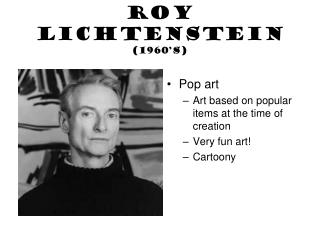 Roy Lichtenstein (1960's)