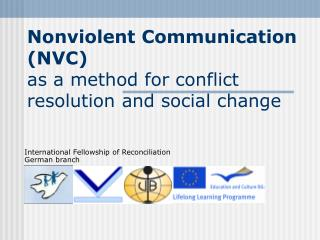 Nonviolent Communication (NVC)  as a method for conflict resolution and social change