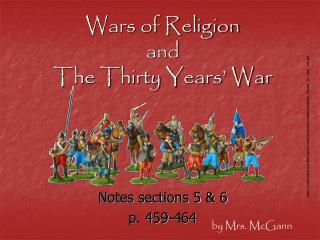 Wars of Religion and  The Thirty Years' War