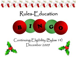 Rules-Education
