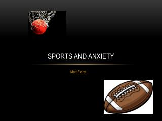 Sports and anxiety