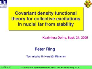 Covariant density functional theory for collective excitations  in nuclei far from stability
