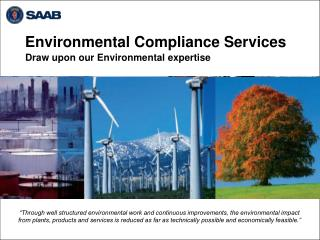 Environmental Compliance Services