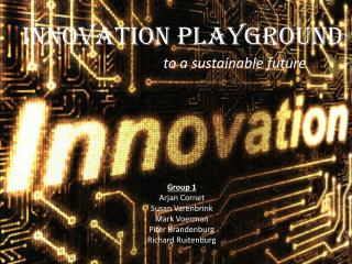 Innovation Playground