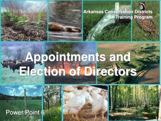 Arkansas Conservation Districts Training Program