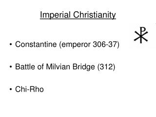 Imperial Christianity