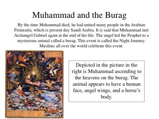 Muhammad and the Burag