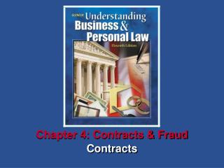 Chapter 4: Contracts & Fraud