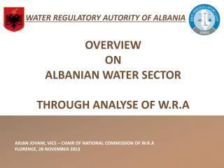 WATER REGULATORY AUTORITY OF ALBANIA
