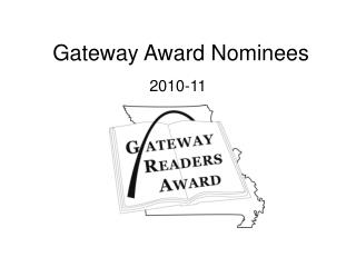Gateway Award Nominees