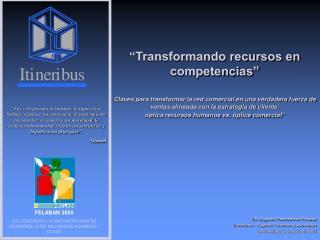 Dr. Eugenio Palomero de Páramo Itineribus – Eugenio Palomero y Asociados