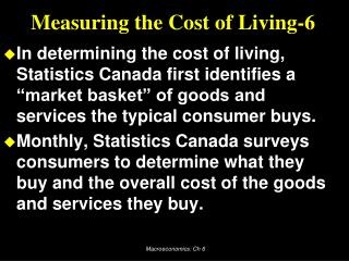 Measuring the Cost of Living-6