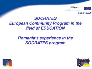 The SOCRATES Program in Romania – implementation steps