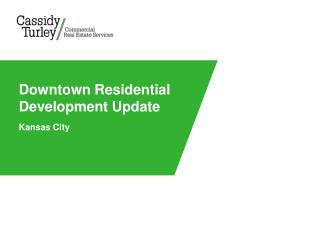 Downtown Residential Development Update