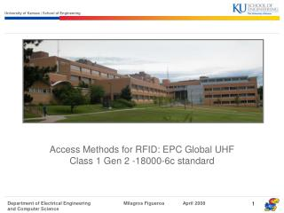 Access Methods for RFID: EPC Global UHF Class 1 Gen 2 -18000-6c standard