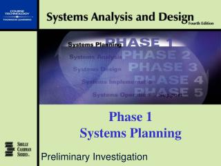 Phase 1 Systems Planning
