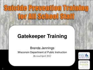 Suicide Prevention Training for All School Staff