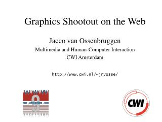 Graphics Shootout on the Web