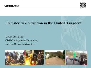 Disaster risk reduction in the United Kingdom