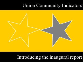 Union Community Indicators