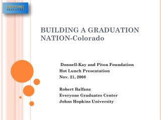 BUILDING A GRADUATION NATION-Colorado