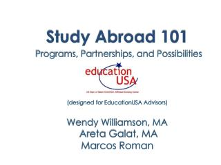 What is Study Abroad?
