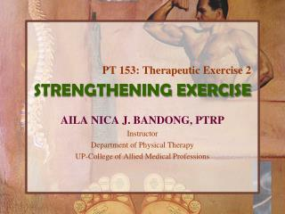 STRENGTHENING EXERCISE